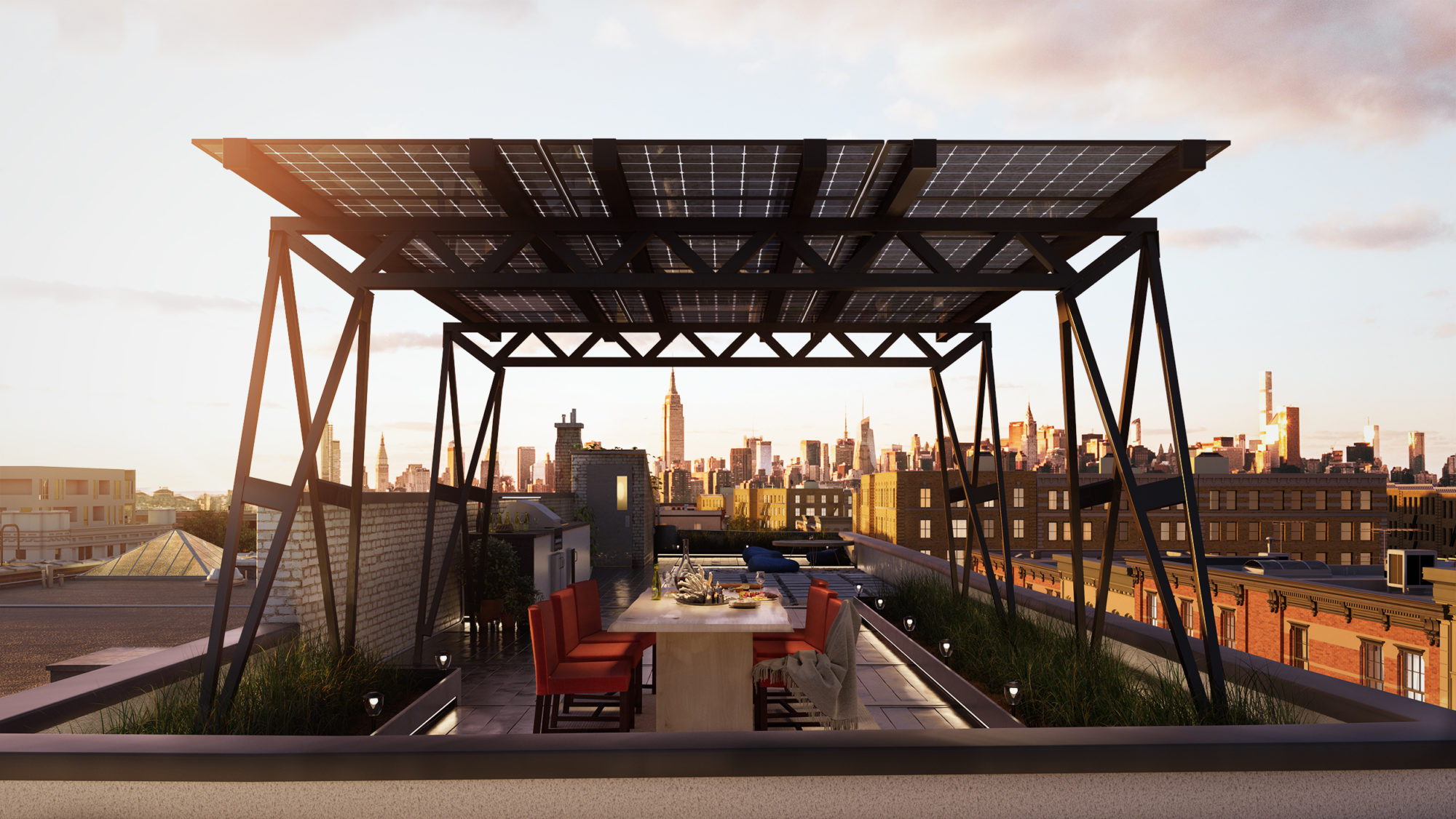 Brooklyn Solarworks Roof 2