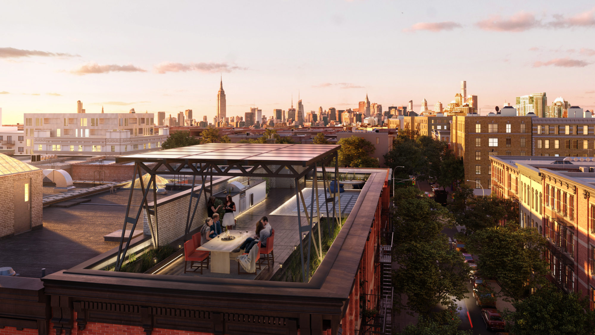Brooklyn Solarworks Roof
