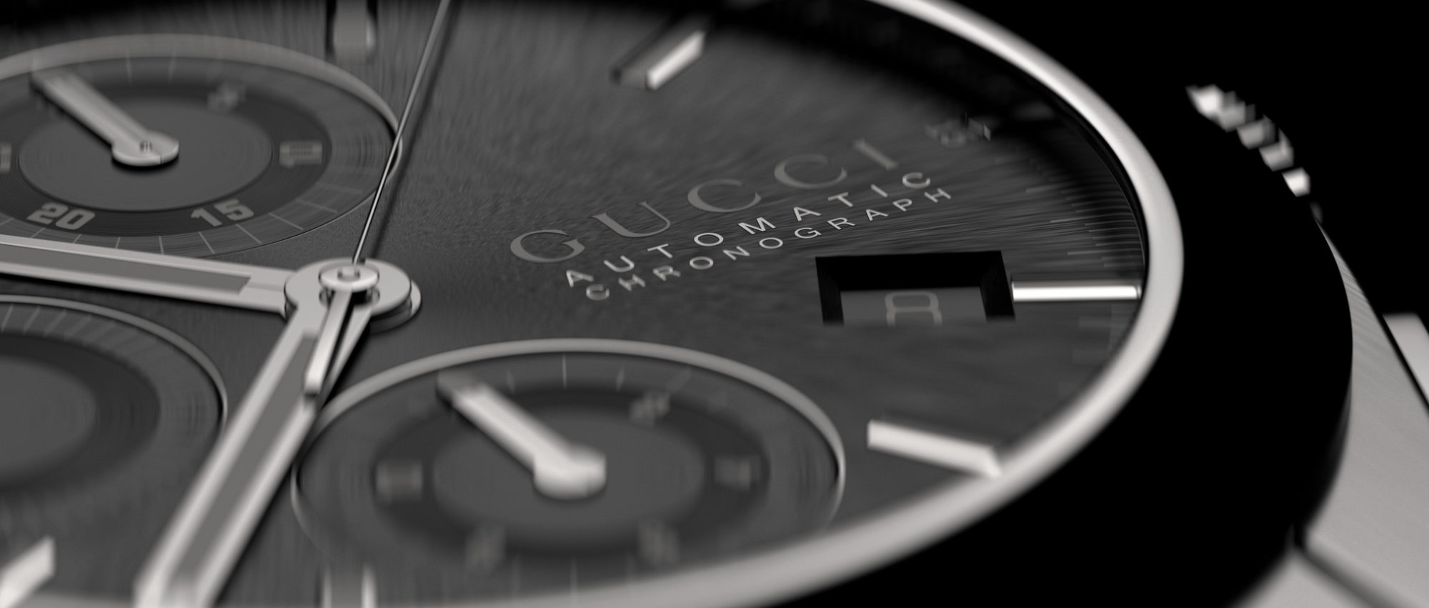 Gucci Watch Face Closeup