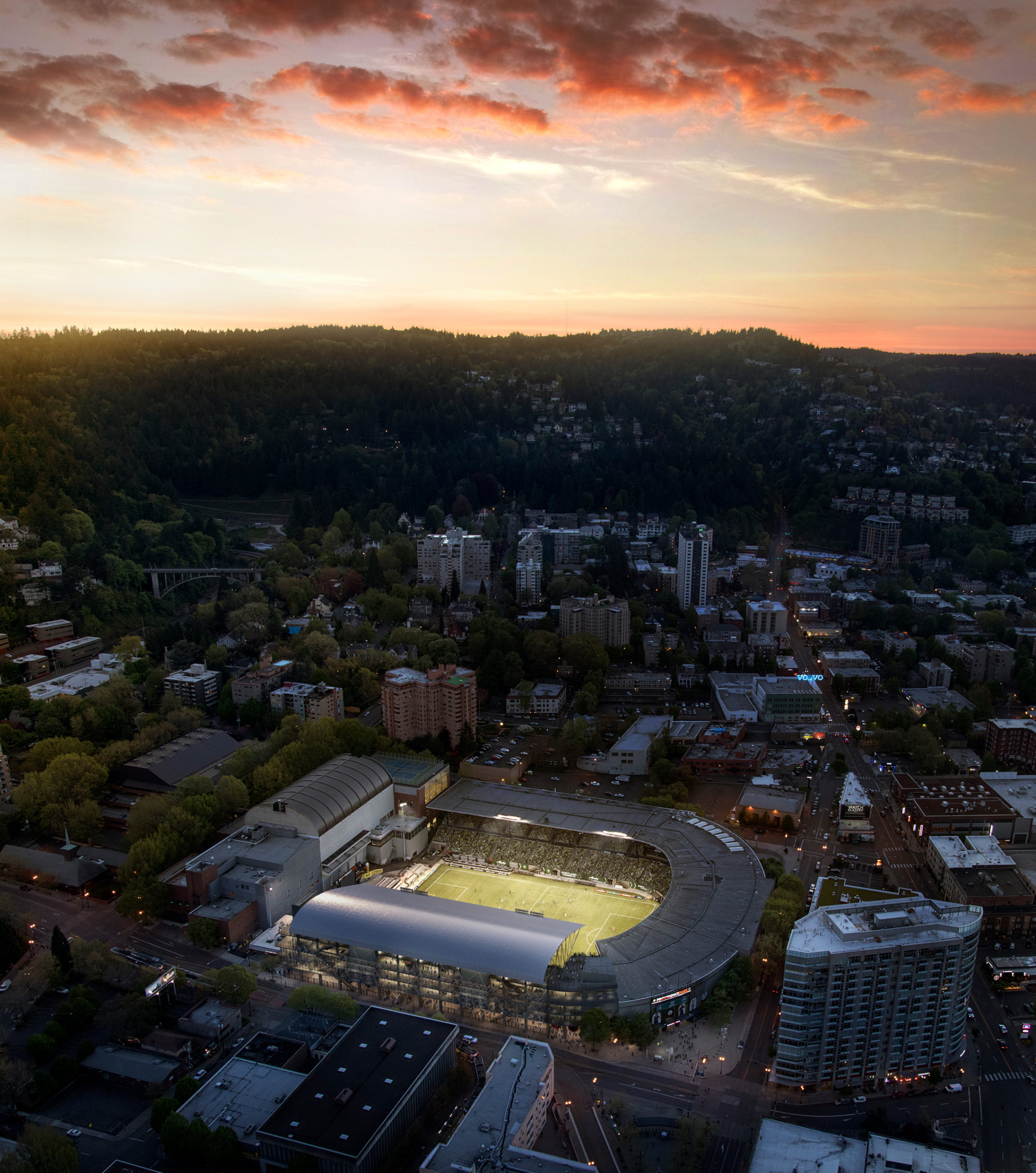 Portland-Timbers-Stadium-Aerial-Allied-Works